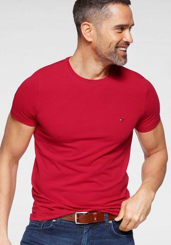 Tommy Hilfiger Marškinėliai »STRETCH SLIM FIT TEE«