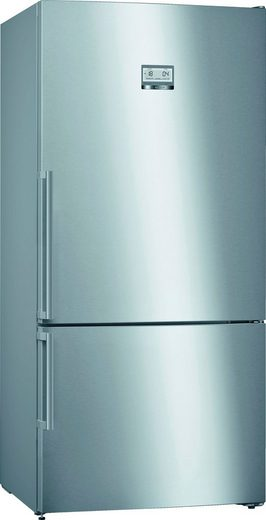 BOSCH Kühl-/Gefrierkombination KGN86AIDP, 186 cm hoch, 86 cm breit