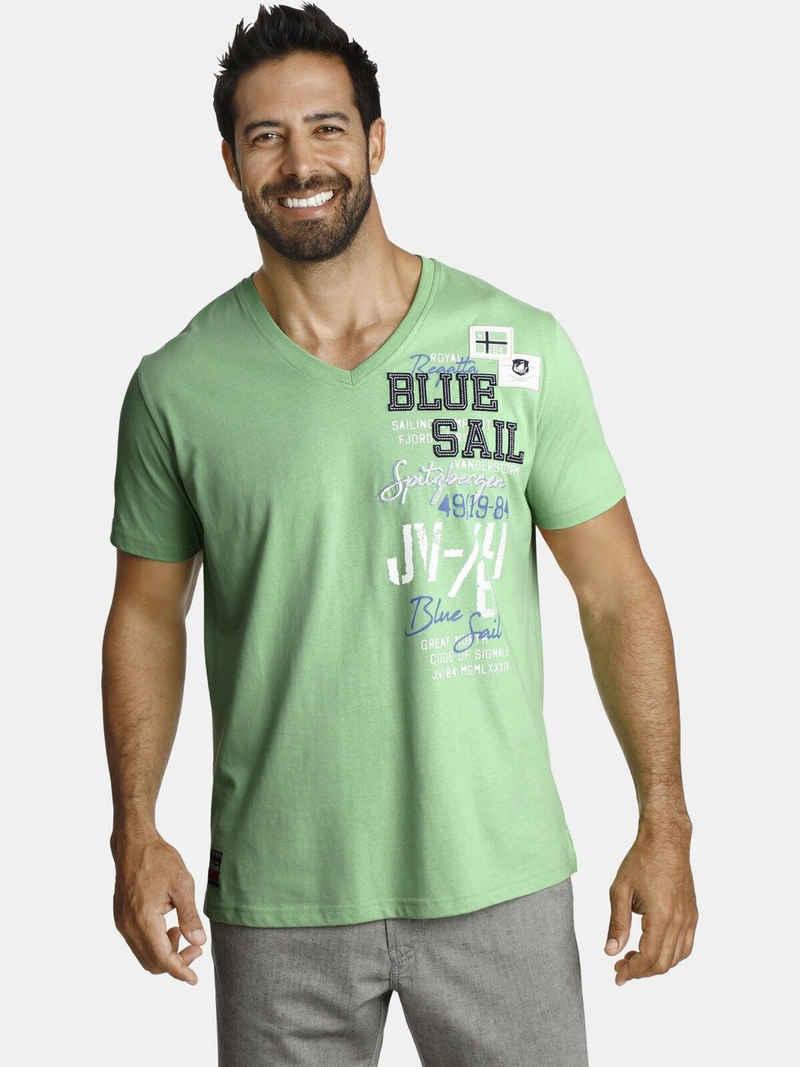 Jan Vanderstorm T-Shirt »KOLBJORN« komfortable Passform
