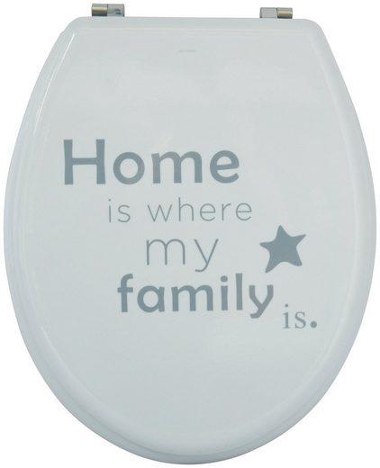 MSV WC-Sitz »HOME«, MDF-Kern