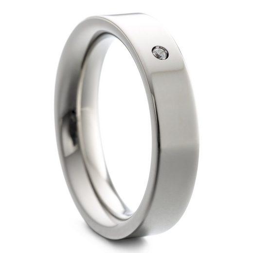 Heideman Fingerring »Paari mit Stein poliert« (1-tlg), Damenring für Frauen mit Stein