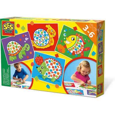 SES Creative Malvorlage »Ich lerne Formen & Farben Mosaik«