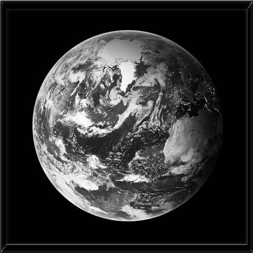 HTI-Line Glasbild »Glasbild Erde«, Wandbild