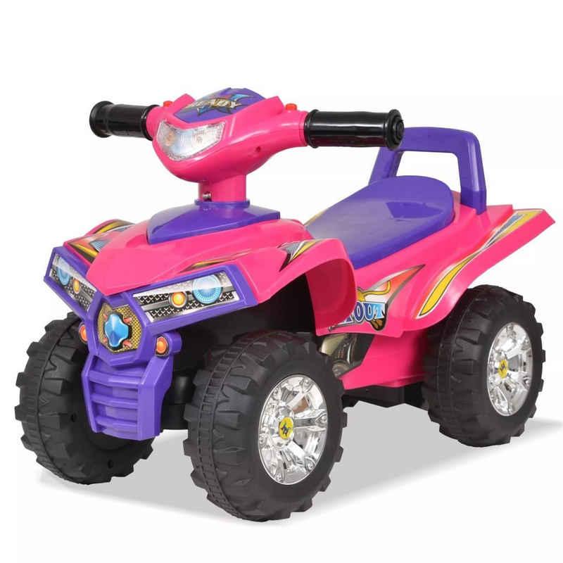 tilumi Spielzeug-Quad »Kinder Geländefahrzeug ATV mit Sound und Licht Rosa und Lila«