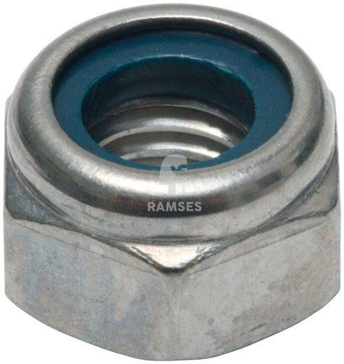 RAMSES Sicherungsmutter, (75-St), DIN 985 M8