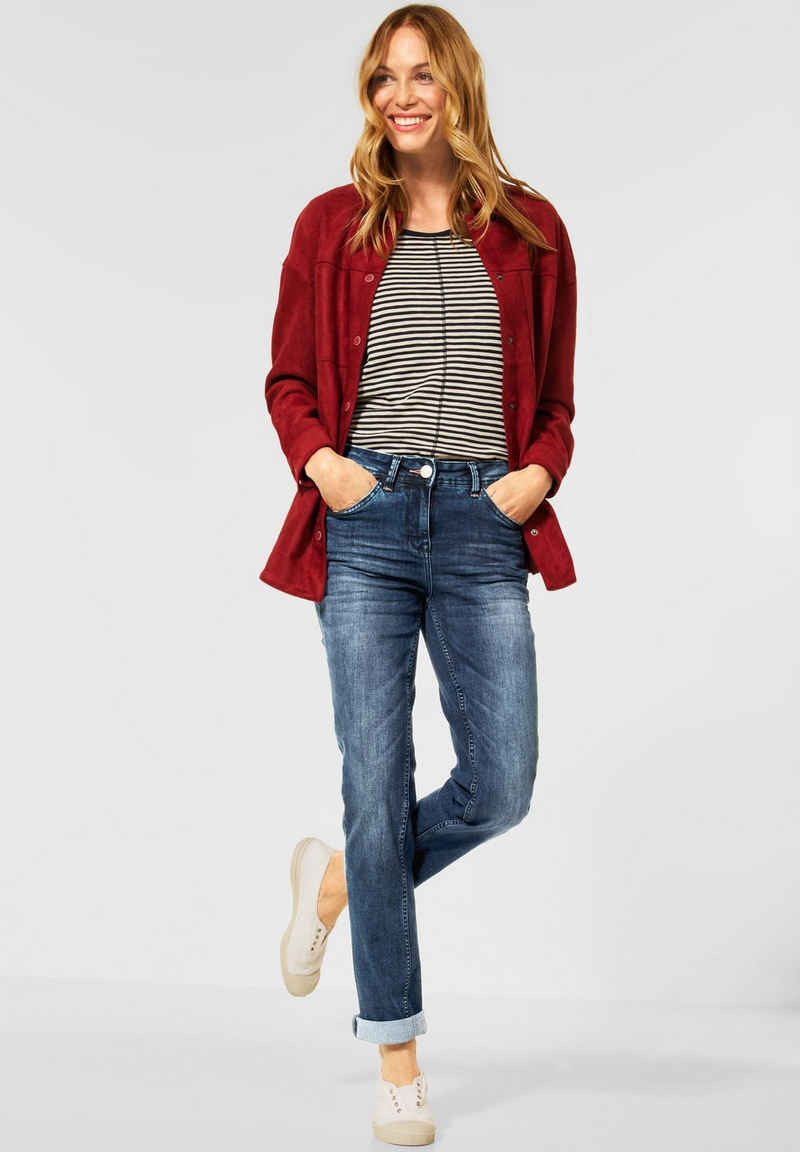 Cecil Straight-Jeans 5-Pockets Style
