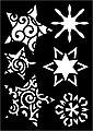 VBS Schablonen Weihnachten, 3er-Set, Bild 4