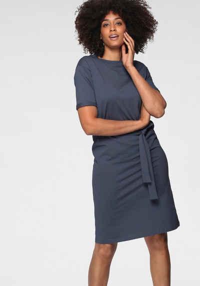 Vero Moda Jerseykleid »VMOLIVA SS O-NECK BLK DRESS«