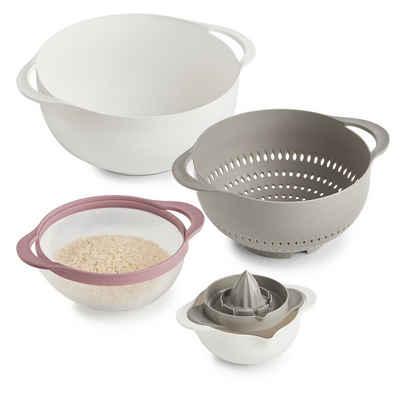 Neuetischkultur Rührschüssel »Multifunktions-Küchen-Set 5-teilig«, Kunststoff, (1-tlg)