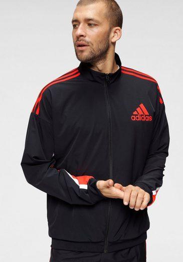 adidas Performance Trainingsjacke »FULLZIP TRACKTOP«