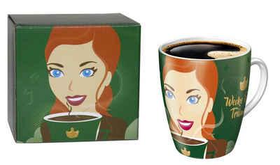 Ritzenhoff Becher, Porzellan, Ritzenhoff Sammelbecher 15. Edition limitiert Jacobs Kaffeebecher Becher Tasse