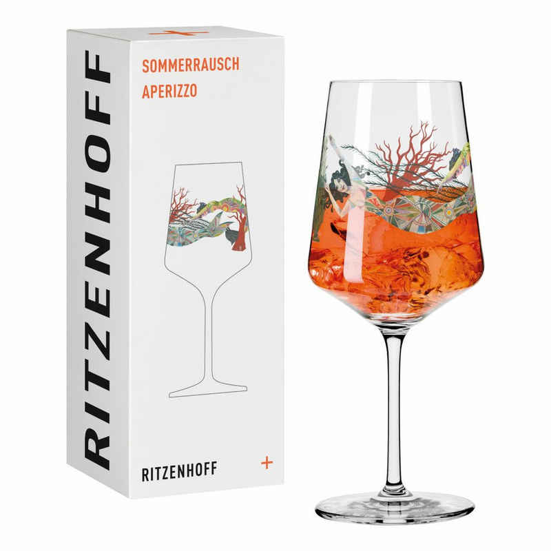 Ritzenhoff Aperitifglas »Sommerrausch Aperizzo 006«, Kristallglas, Made in Germany