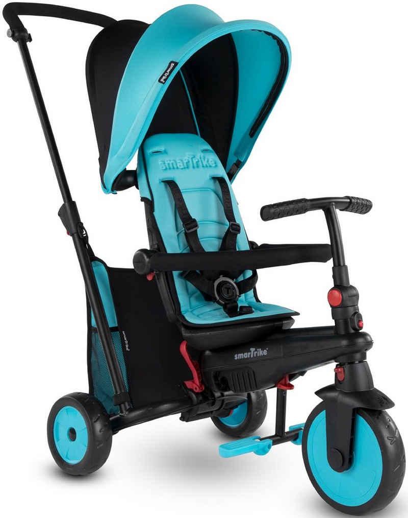 smarTrike® Dreirad »FoldingTrike STR3, Blau«, mit verstellbarem Sonnenschutzdach