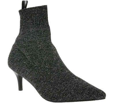 XYXYX »xyxyx Schuhe Stiefelette stylische Damen Stiefel mit elastischem Schaft Frühlings-Stiefel Schwarz glitzernd« Stiefelette