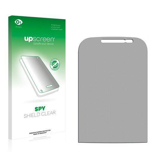 upscreen Schutzfolie »für Samsung GT-B5330«, Folie Schutzfolie Sichtschutz klar anti-spy