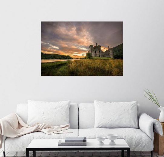 Posterlounge Wandbild, Burgruine Kilchurn, Schottland