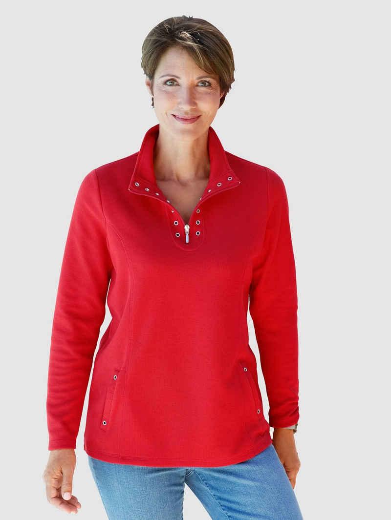 Paola Sweatshirt mit Ziernieten
