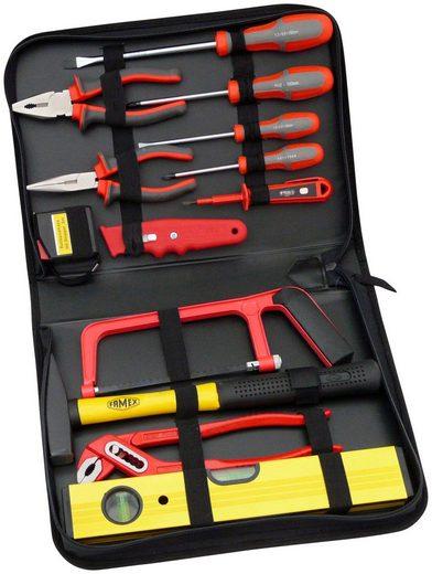 FAMEX Werkzeugtasche »190-48«, Universal-Bestückung, 12-tlg.
