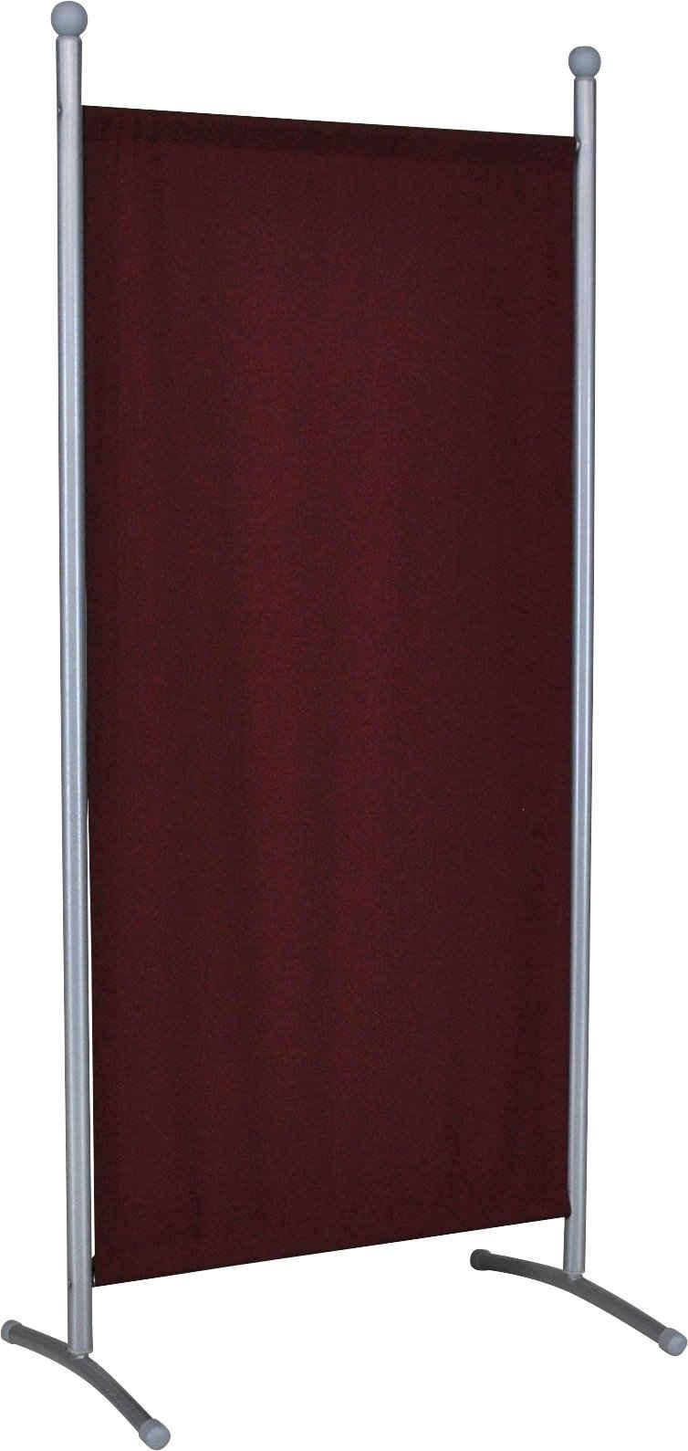 Angerer Freizeitmöbel Stellwand »Klein bordeaux« (1 Stück), (B/H): ca. 82x178 cm