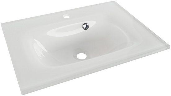 FACKELMANN Einbauwaschbecken »Yega«, Glas, Breite 60,5 cm