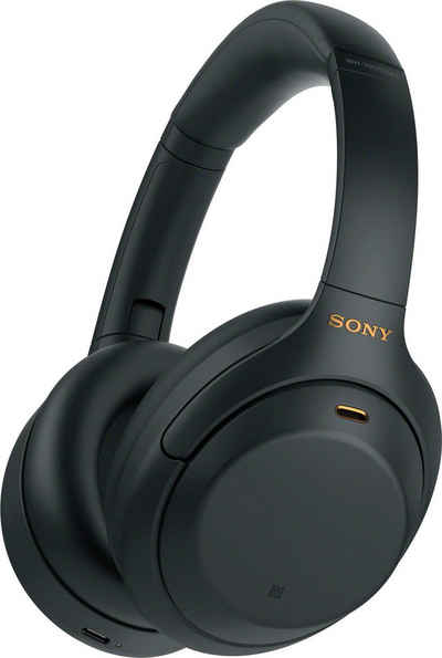 Sony »WH-1000XM4 kabelloser« Over-Ear-Kopfhörer (Bluetooth, NFC, Touch Sensor, Schnellladefunktion)