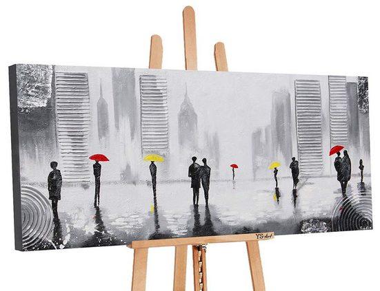 YS-Art Gemälde »Angenehmes Treffen«