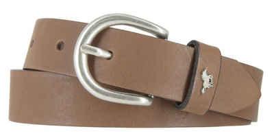 MUSTANG Ledergürtel »Mustang Damengürtel 25 mm Ledergürtel Vintage«