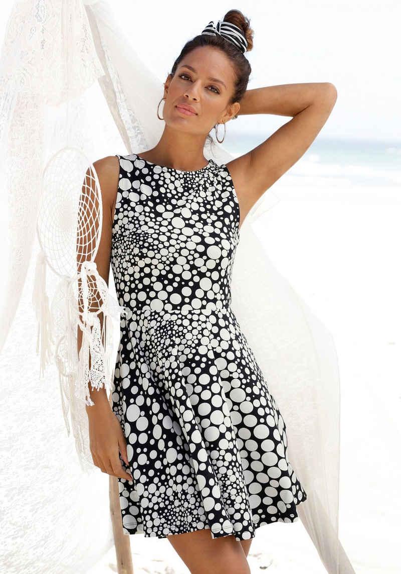 Beachtime Strandkleid mit Punktedruck