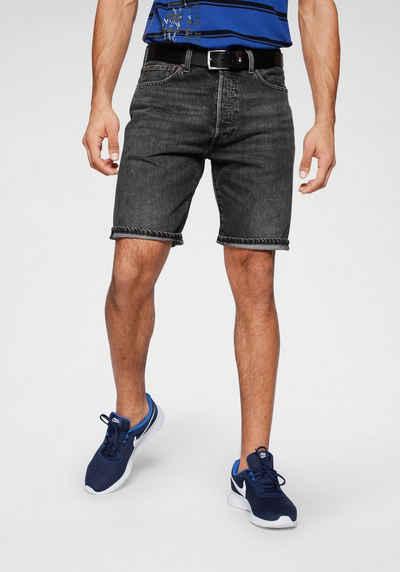 Tommy Hilfiger Jeans Scanton Jeans Shorts Slim Fit Black Kurze Hose Herren Short