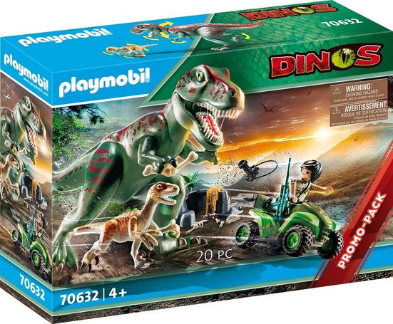 Playmobil® Konstruktions-Spielset »T-Rex Angriff (70632), Dinos«, ; Made in Germany