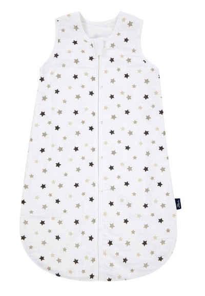 Alvi® Babyschlafsack »Alvi Mull-Schlafsack Sterne grau«