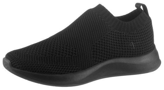 Tamaris »Fashletics« Slip-On Sneaker im monochromen Look