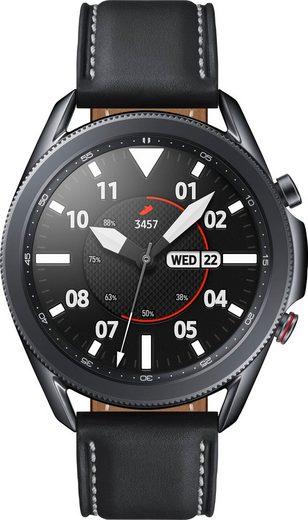 Samsung Galaxy Watch 3, Edelstahl, 45 mm, LTE (SM-R845) Smartwatch (3,4 cm/1,4 Zoll, Android Wear)