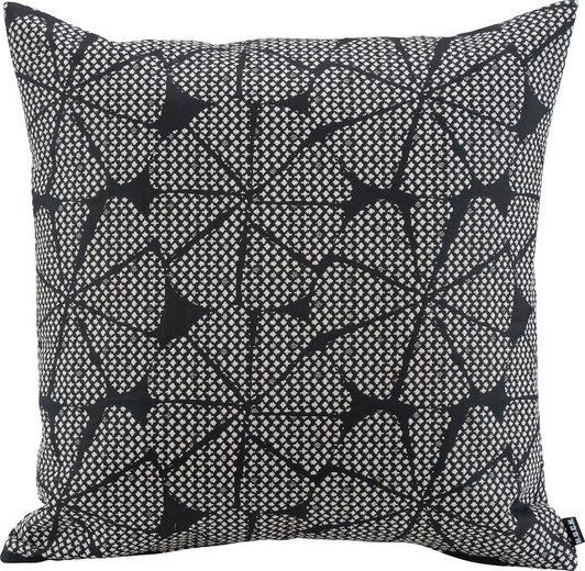 H.O.C.K. Dekokissen »Black Art«, mit graphischem Muster