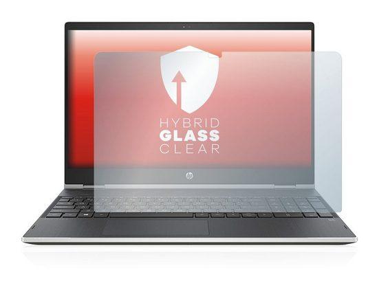 upscreen Schutzfolie »Panzerglasfolie für HP Pavilion Convertible x360 15-dq0220ng«, Schutzglas Glasfolie klar
