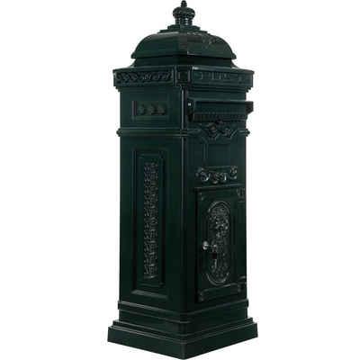 STILISTA Briefkasten »Maxstore Antiker englischer Standbriefkasten«, rostfreies Aluminium, Höhe: 102,5 cm, in 6 verschiedenen Farben