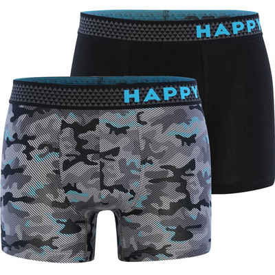 HAPPY SHORTS Retro Pants »2-Pack Trunks Camouflage«