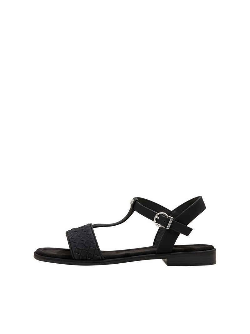 Esprit »Flecht-Sandalen in Lederoptik« Sandale