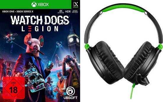 Watch Dogs Legion Xbox One, inkl. Ear Force Recon 70X