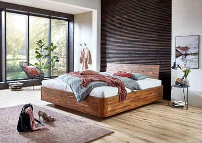 SAM® Holzbett »Madeira«, Schwebebett 140x200cm