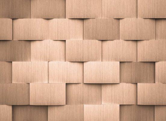 living walls Fototapete »Designwalls Alu Pattern 2«, glatt, (5 St)