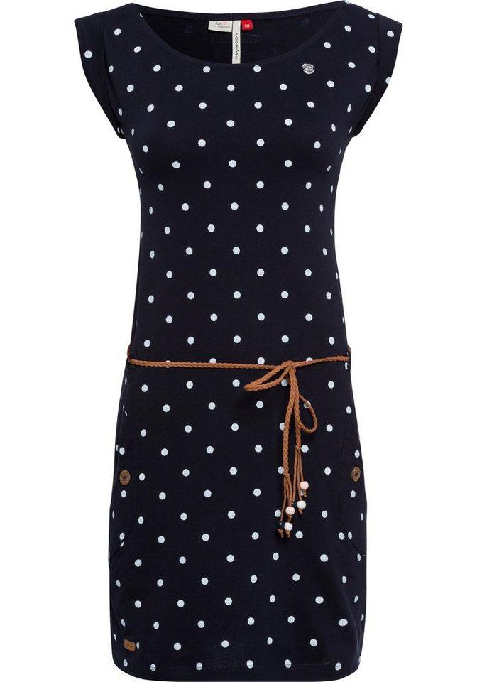 ragwear -  Jerseykleid »TAG DOTS« (2-tlg) mit Allover-Dots-Print