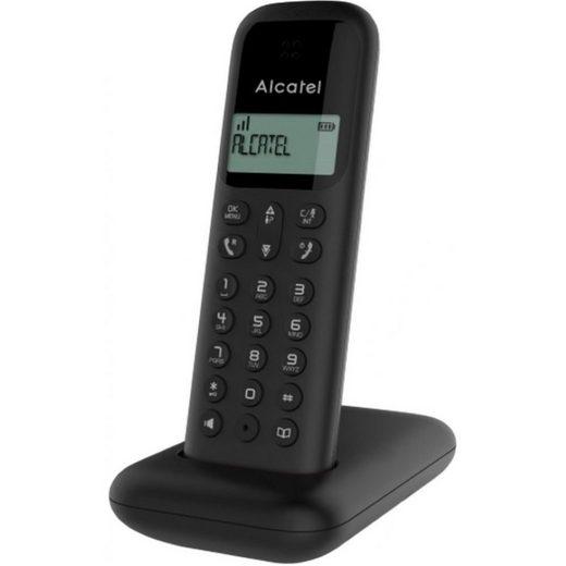 Alcatel »D285 - Telefon - schwarz« Schnurloses Mobilteil