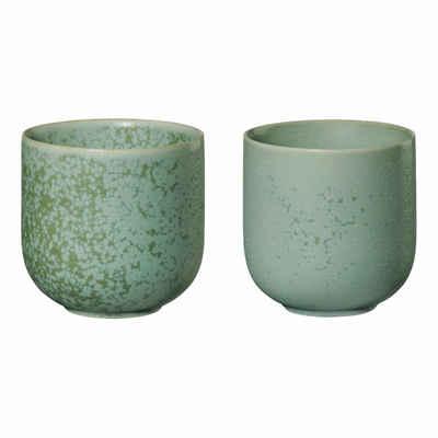 ASA SELECTION Teeglas »coppa 2er Set minto 150 ml«, Porzellan