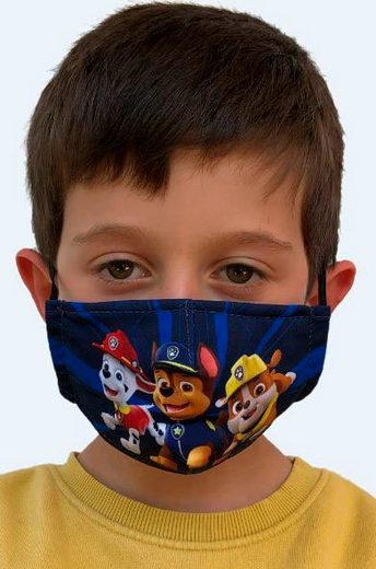 SkyBrands Mund-Nasen-Masken, (Packung, 2-tlg), für Kinder 3-7 Jahre