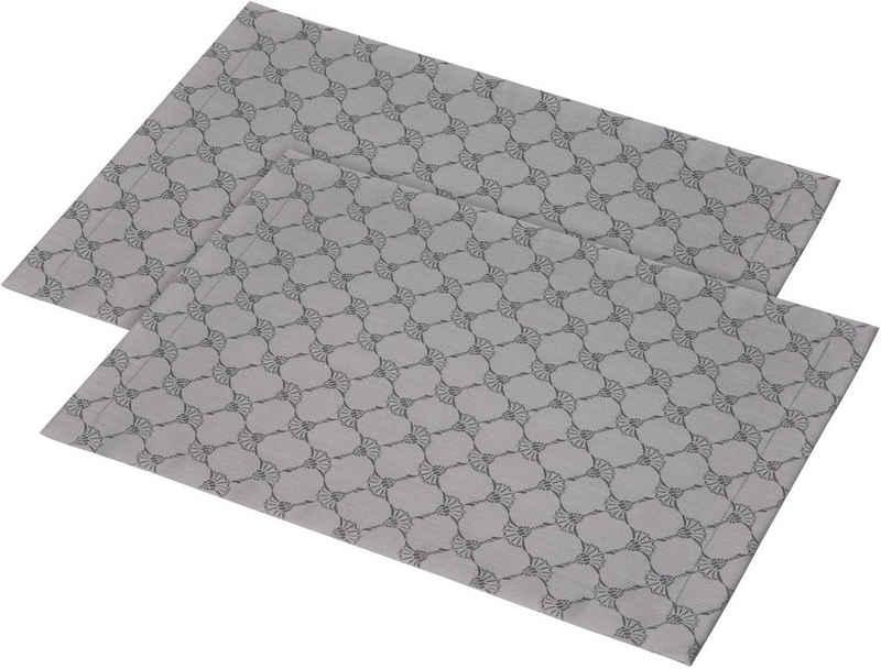 Platzset, »CORNFLOWER ALLOVER«, Joop!, (Set, 2-St), Aus Jacquard-Gewebe gerfertigt mit Kornblumen-Allover-Muster