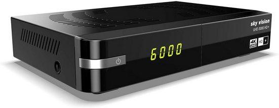Sky Vision »sky vision UHD 3000 HD+ Digitaler UHD Satellitenre« Satellitenreceiver