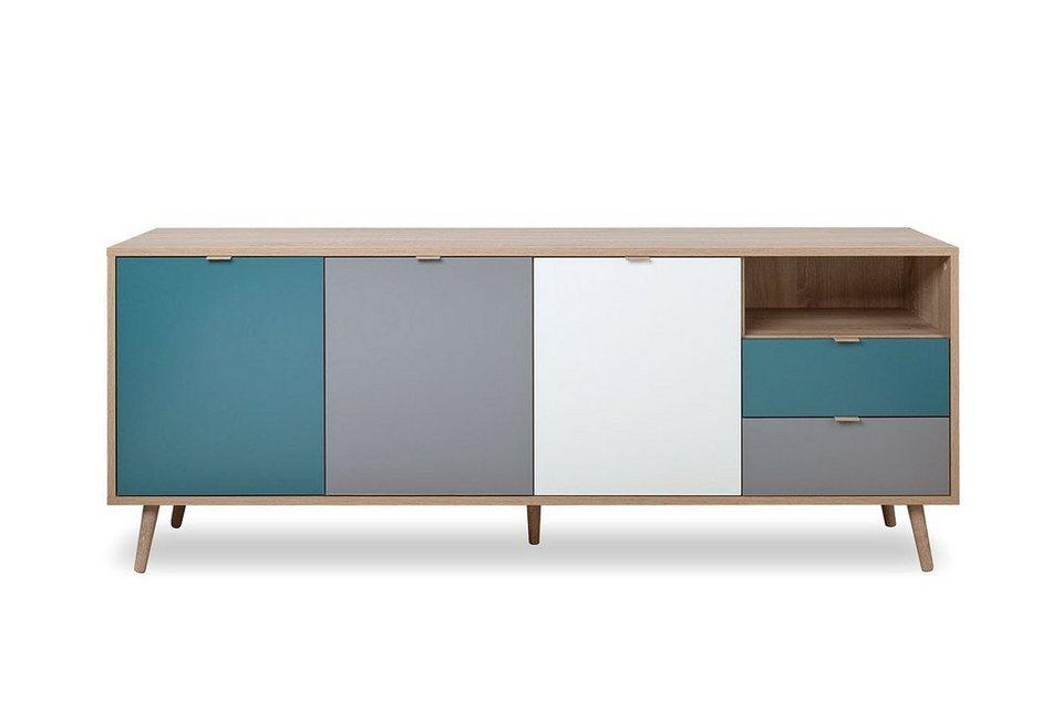 Newroom Sideboard »Jona«, Sideboard Sonoma Eiche Modern ...