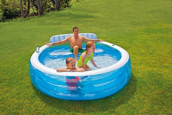Intex Pool »Swim Center Family Lounge«, für Kinder, BxLxH: 218x229x79 cm