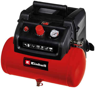 Einhell Kompressor »TC-AC 190/6/8 OF«, 1200 W, max. 8 bar, Set